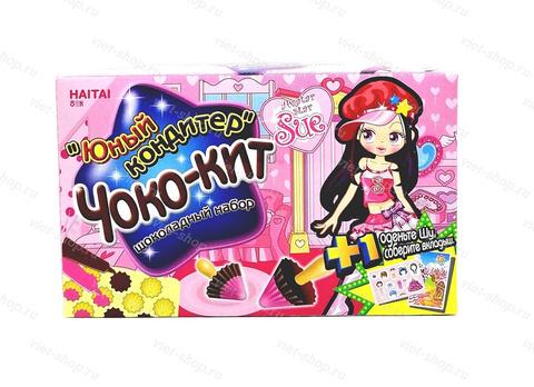 Набор шоколадный Юный кондитер, HAITAI Чоко-КИТ, Корея, 38.3 гр.