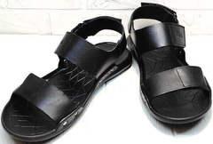 Модные сандали босоножки спортивного типа мужские Zlett 7083 Black.