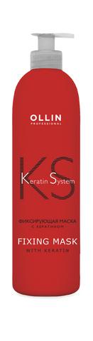 OLLIN Keratine System Фиксирующая маска с кератином 500мл