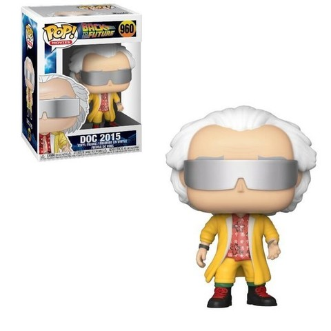 Doc 2015 Funko Pop! || Док Эммет Браун 2015 (Back to the Future)