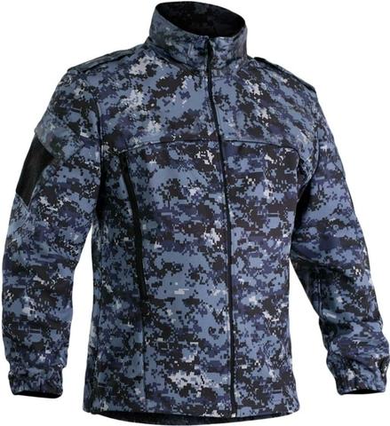 Куртка «Softshell» - цифра синяя