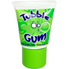 Жевачка в тюбике Tubble Gum Apple со вкусом яблока 35 гр