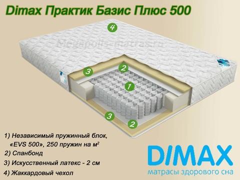 Матрас Dimax Практик Базис Плюс 500 от Мегаполис-матрас