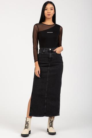 Юбка MAXI SKIRT Calvin Klein Jeans