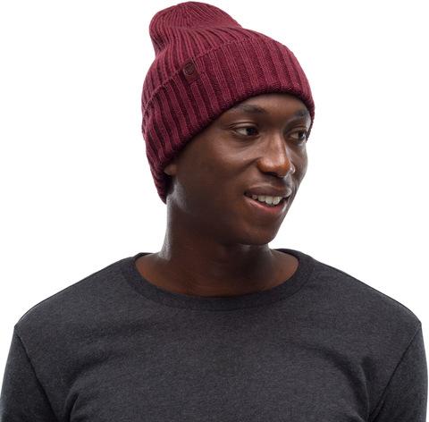 Вязаная шерстяная шапка Buff Hat Wool Knitted Norval Armor фото 1