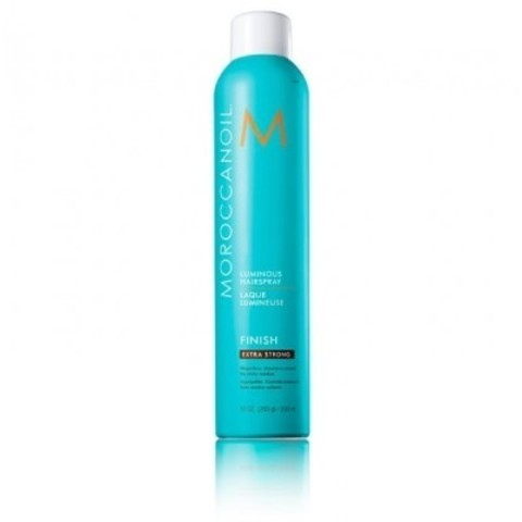 Moroccanoil Styling: Сияющий лак для волос экстра - сильной фиксации (Luminous Hairspray Finish Extra Strong), 330мл