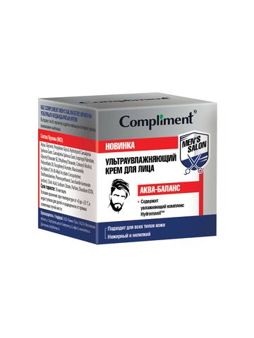 Compliment MEN'S SALON Ультраувлажняющий крем для лица