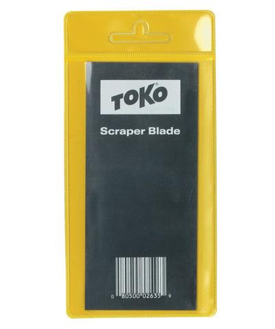 Картинка скребок Toko Steel Scraper Blade стальной в упаковке  - 1