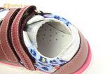 Детские ботинки Лель 3-1017 из натуральной кожи, для девочки, розовые. Изображение 14 из 14.