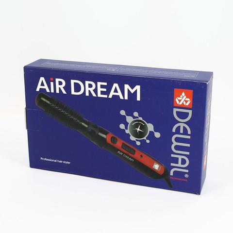 Фен-щетка Dewal Air-Dream,1000 Вт, 2 насадки (25 и 38 мм), красная