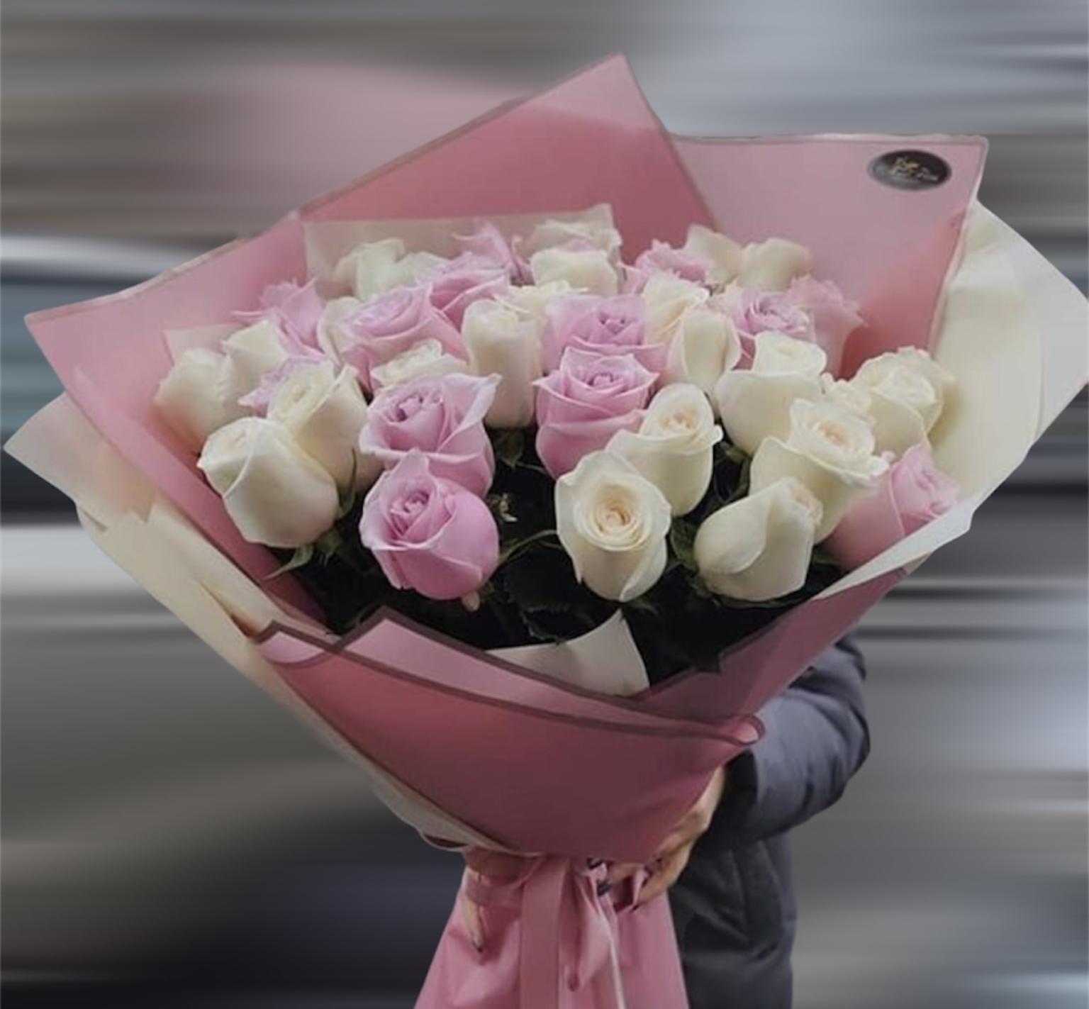 Букет роза Эквадор 70 см (Б-74)