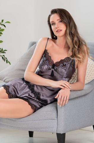 Пижама женская Mia-Amore LAURA ЛАУРА 3292 серая