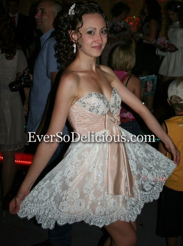 Ирина в платье Sherri Hill 2841
