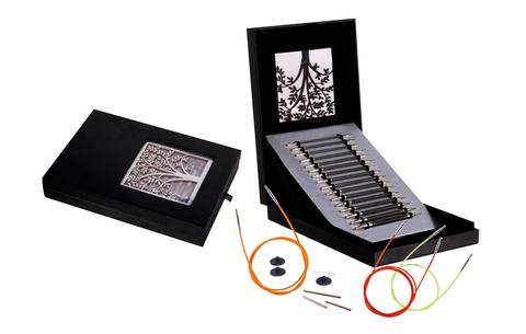 KnitPro Karbonz Набор карбоновых сменных спиц