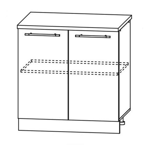 Кухня Вита шкаф нижний 850*800