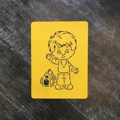 Ученик №3 Мальчик с портфелем