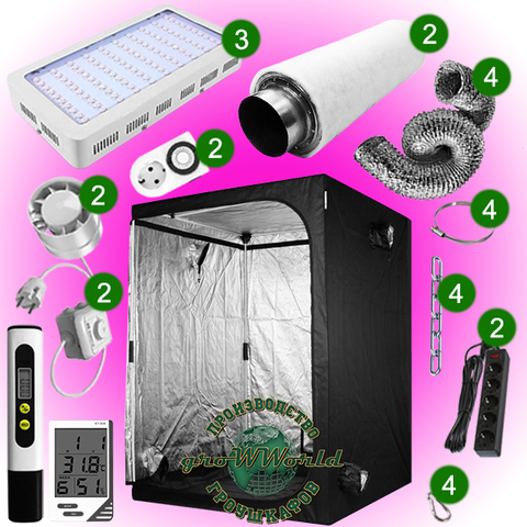 150х150х200 PROBOX  900W LED SUPERSILENT