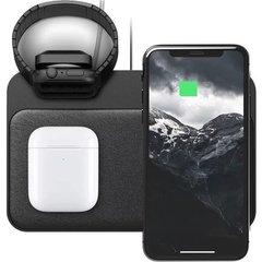 Беспроводная зарядка Nomad Base Station Apple Watch Edition Stand + USB; Black