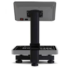 Весы торговые напольные Mertech M-ER 333ACPU-32.5, LСD/LED, АКБ, 32кг, 5гр, 350*300, с поверкой, складная стойка