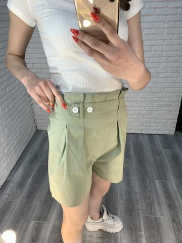 летние шорты с высокой талией женские nadya