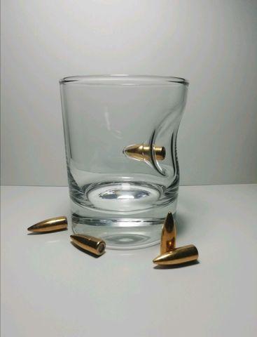 Стакан для виски с пулей «Caliber», 220 мл