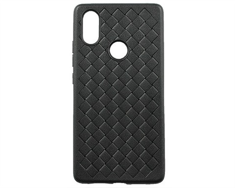 Чехол для Xiaomi Mi8 SE | серия плетение черный