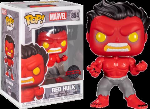 Фигурка Funko Pop Marvel: Red Hulk (Excl. to Hot Topic)