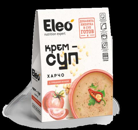 Крем-суп харчо с грецкой мукой