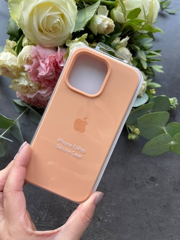 Чехол iPhone 13 Pro Max Silicone Case Full /cantaloupe/