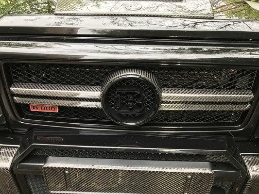 Решетка радиатора  для Mercedes G-class