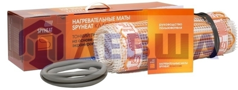 Теплый пол SpyHeat SHMD-8-600/4кв.м.