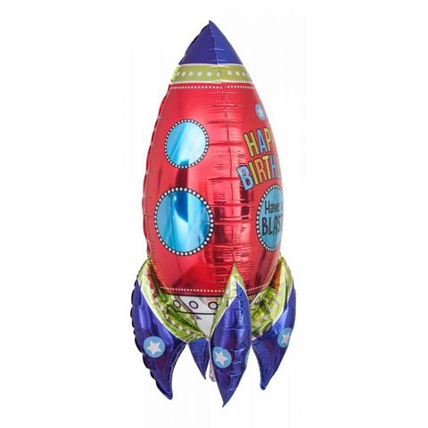 Фольгированный шар «Ракета», 91 см