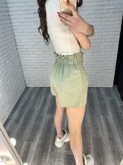 летние шорты с высокой талией женские недорого