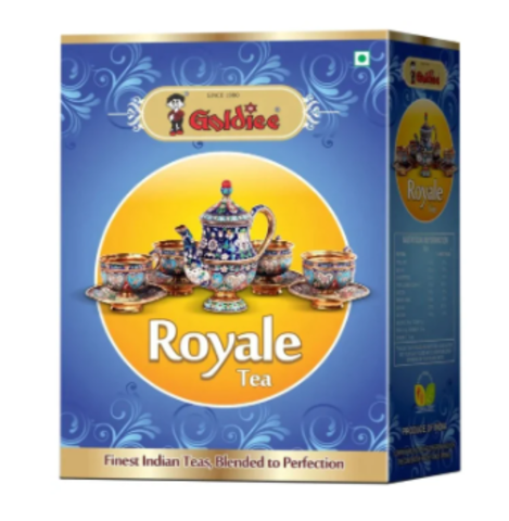 АКЦИЯ - 20%!!! Чай индийский черный КОРОЛЕВСКИЙ ROYAL GOLDIEE, 250 г (Индия)