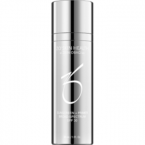 ZO Skin Health Основа под макияж с солнцезащитным экраном SPF 30   Sunscreen + Primer SPF 30 (travel-size)