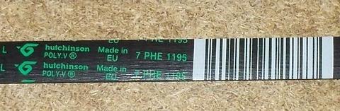 Ремень 8PHE 1195 для стиральной машины Indesit/Ariston (Индезит/Аристон) 1195H7/H8 - 089652