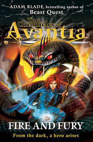 9781408307502 - The Chronicles of Avantia: Fire and Fury