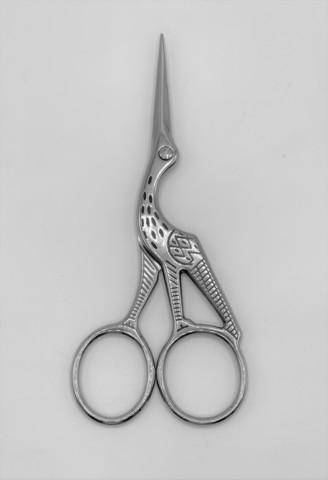 """Ножницы """"Цапля"""" из нержавеющей стали 95 мм , арт.4349"""