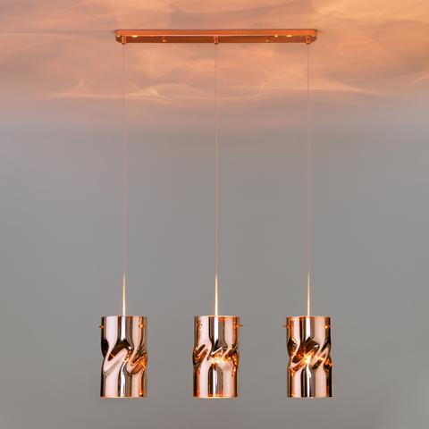 Подвесной светильник 50184/3 медь