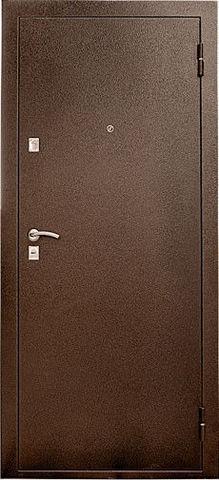 Дверь входная УД-107 стальная, итальянский орех, 2 замка, фабрика Уральские двери