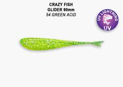 Силикон CRAZY FISH GLIDER 3,5