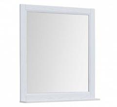 Зеркало Aquanet Бостон М 80 белое матовое