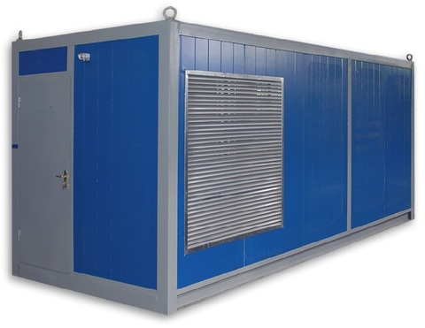 Дизельный генератор CTG 500D в контейнере