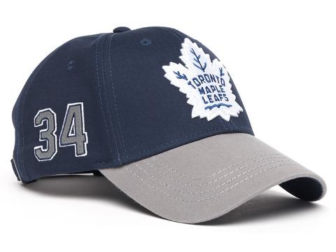 Бейсболка NHL Toronto Maple Leafs № 34