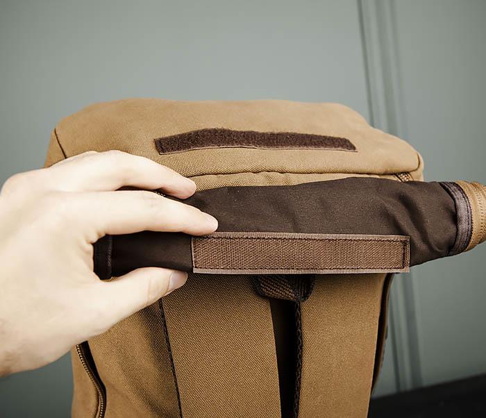 BAG365-2 Рюкзак-трансформер из плотного текстиля фото 08