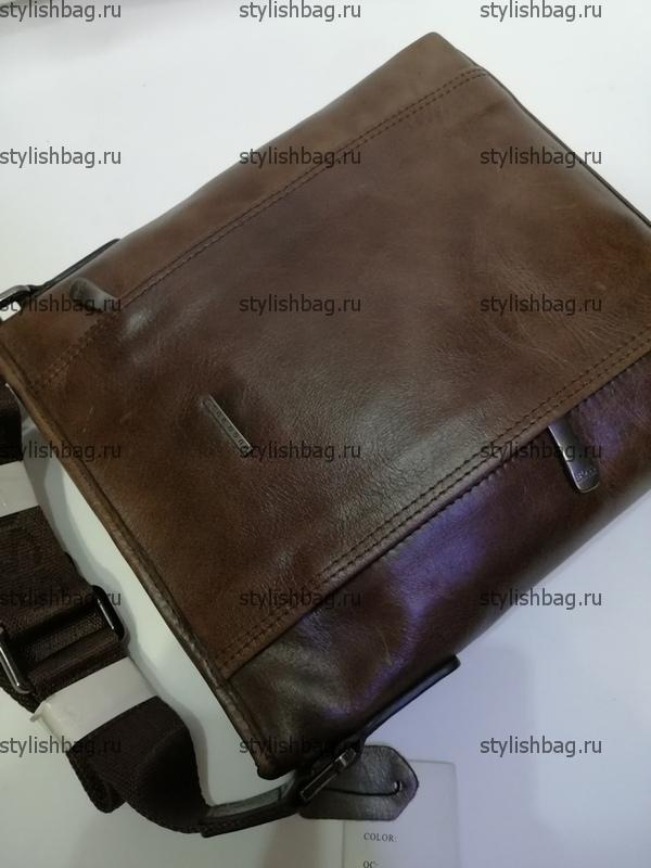 Мужская сумка из кожи через плечо Hugo Boss 4720