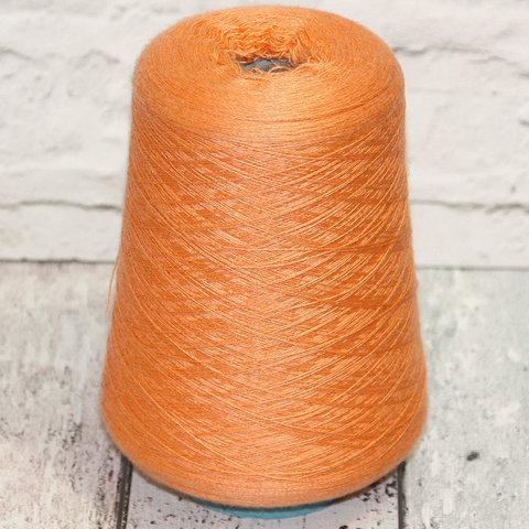 Кашемир с шелком (30%) MANRICO 1450 оранжевый