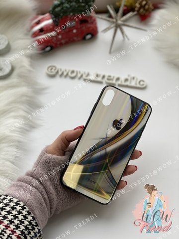 Чехол iPhone X/XS Polaris smoke Case Logo /black/