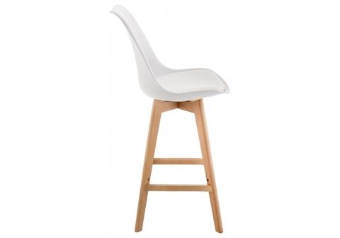 Барный стул Burbon белый 48*48*106