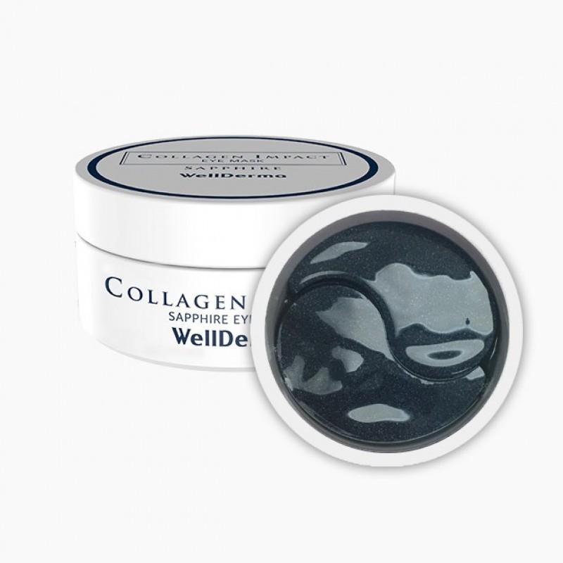 Патчи для глаз Патчи для глаз с коллагеном WELLDERMA Collagen Impact Eye Mask Sapphire 60 шт d35c4aa6f319eb5ee16267369a1e0cdd.jpg